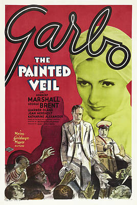 Artistic Expression Mixed Media - The Painted Veil 1934 by M G M