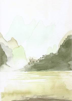 The Painted Veil Art Print by Jim Green