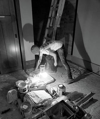 Photograph - The Painter And Her Tools by David Pantuso