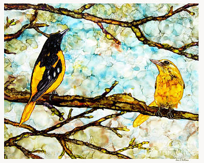 Painting - The Pair 2 by Jan Killian