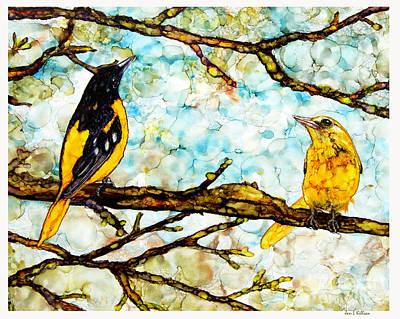 Painting - The Pair 2 by Jan Killian
