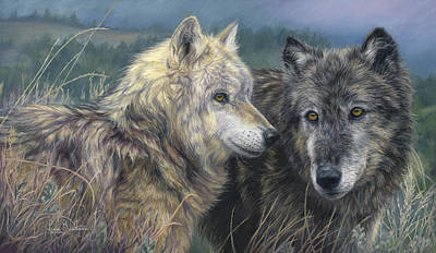 Painting - The Pair by Lucie Bilodeau