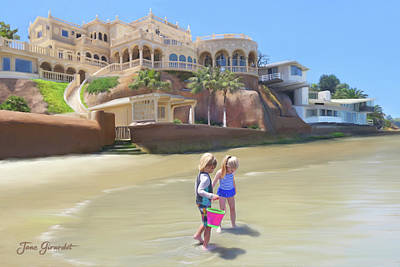Painting - The Palace At La Jolla by Jane Girardot