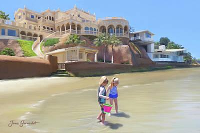 Painting - The Palace At La Jolla by Jane Girardot