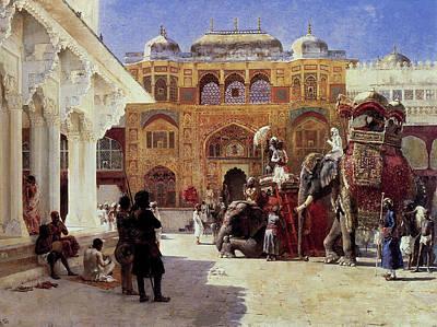 The Palace Of Amber Art Print