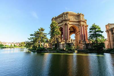Photograph - The Palace Of Fine Arts 8 by Jason Chu