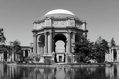 Fine Art Relief Photograph - The Palace Of Fine Arts by L O C