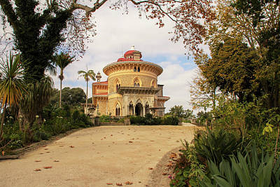 The Palace Of Monserrate Portugal Art Print by Christopher Cosgrove