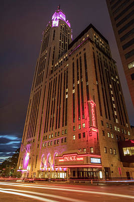 Photograph - The Palace Theatre Columbus Ohio  by John McGraw