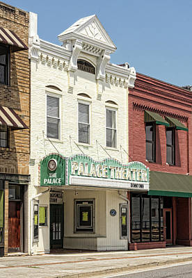 Photograph - The Palace Theatre Downtown by Sharon Popek