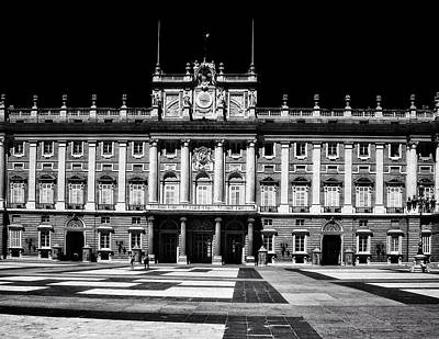 Photograph - The Palacio Real, Madrid  by Connie Handscomb