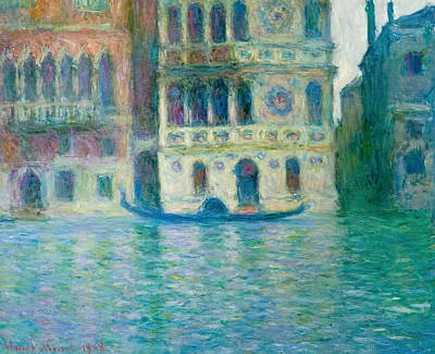 Townscape Painting - The Palazzo Dario, Venice by Claude Monet