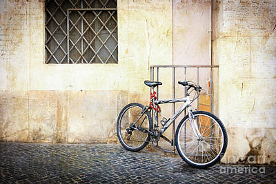 Photograph - The Pale Bicycle by Craig J Satterlee