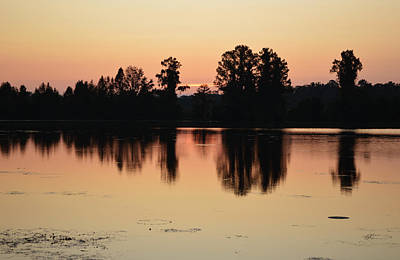 Photograph - The Pale Sunrise by rd Erickson