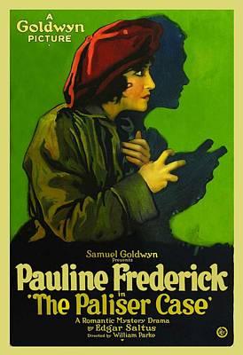 The Paliser Case 1920 Art Print