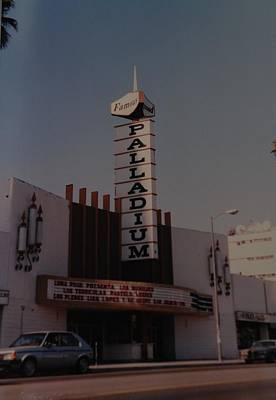 Hollywood Palladium Photograph - The Palladium by Rob Hans