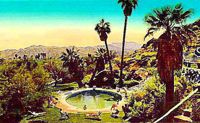 The Palm Springs Tennis Club Art Print