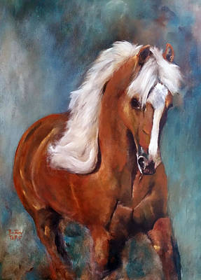 Painting - The Palomino 2 by Barbie Batson