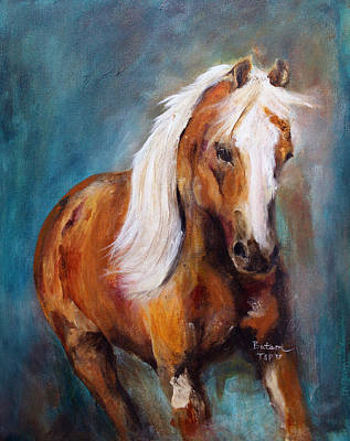 Painting - The Palomino by Barbie Batson