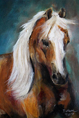 Painting - The Palomino I by Barbie Batson