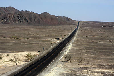 Photograph - The Pan-american Highway, Peru by Aidan Moran