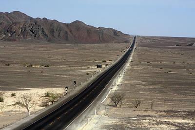 Photograph - The Pan-american Highway, Peru by Aidan Moran
