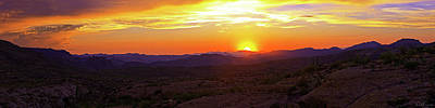 Photograph - The Panoramic Arizona Sky by Rick Furmanek