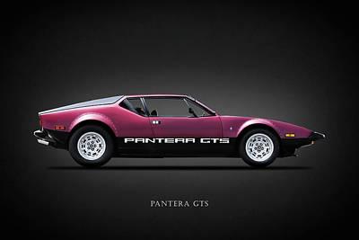 V8 Car Photograph - The Pantera Gts by Mark Rogan