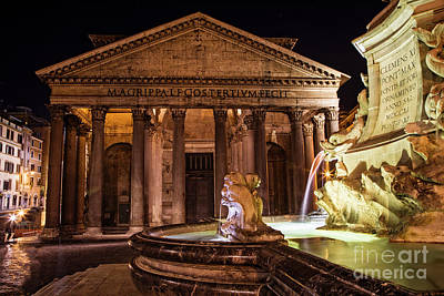 Photograph - The Pantheon by Scott Kemper