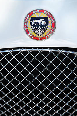 Photograph - The Panther Car Company by Theresa Tahara