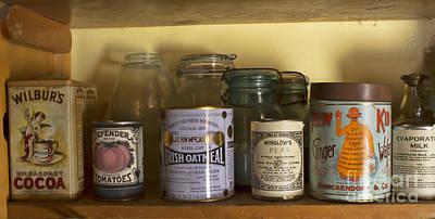 Photograph - The Pantry Shelf by Steven Parker