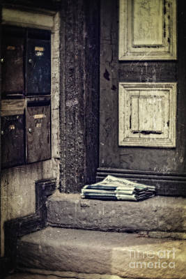 Photograph - The Paper Boy Was There. by Mandy Tabatt