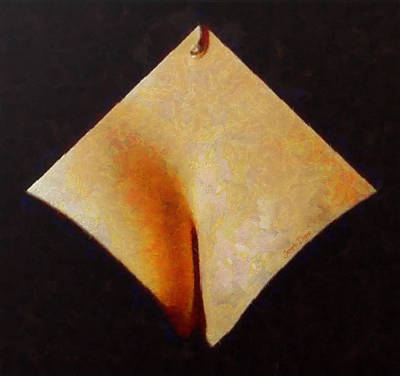Materials Painting - The Paper - Pa by Leonardo Digenio