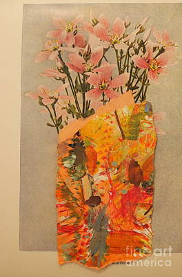 Mixed Media - The Paper Vase by Nancy Kane Chapman
