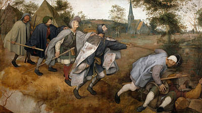 Painting - The Parable Of The Blind by Pieter Bruegel the Elder