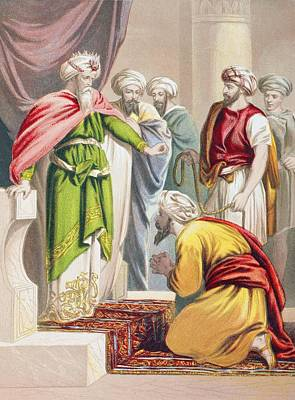 Bible Drawing - The Parable Of The King And The by Vintage Design Pics