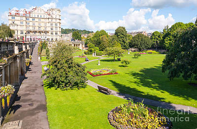 Photograph - The Parade Gardens, Bath by Colin Rayner