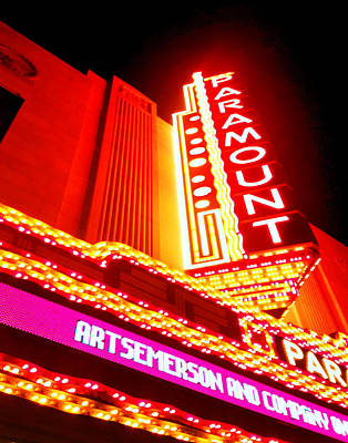 Photograph - The Paramount 023 by Jeff Stallard