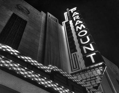 Photograph - The Paramount 024 by Jeff Stallard