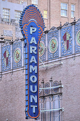 Photograph - The Paramount In Downtown Abilene by JC Findley