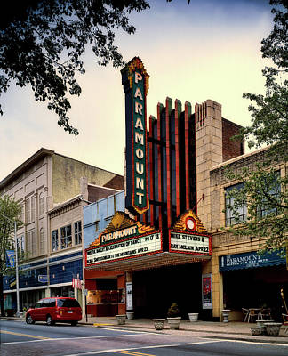 Photograph - The Paramount Theatre by L O C