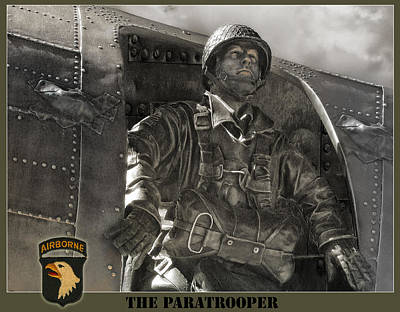 The Paratrooper Art Print