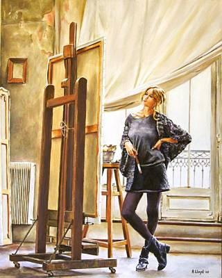 The Paris Studio Art Print by Andy Lloyd
