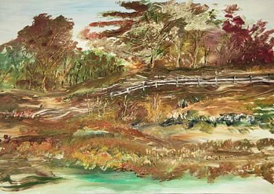 The Park Art Print by Edward Wolverton
