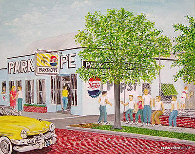 The Park Shoppe Portsmouth Ohio Original by Frank Hunter