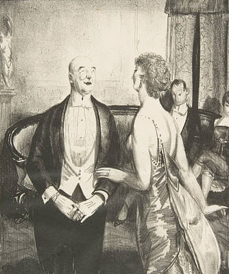 Relief - The Parlor Critic by George Bellows