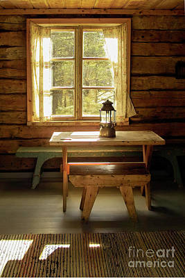 Log Cabin Interiors Photograph - The Parlour by Heiko Koehrer-Wagner