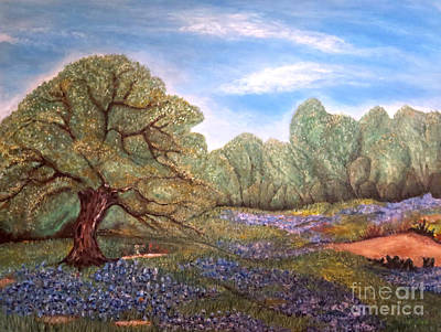 Pear Tree Painting - The Part Of Texas I Can Never Leave Behind by Kimberlee Baxter