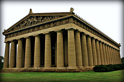 Photograph - The Parthenon 2 by Sheila Kay McIntyre