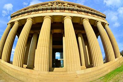 The Parthenon In Nashville Tennessee 3 Art Print